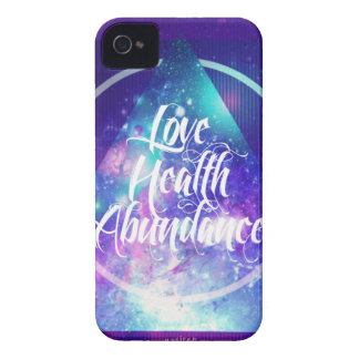 love-health-abundance zen series iPhone 4 cover