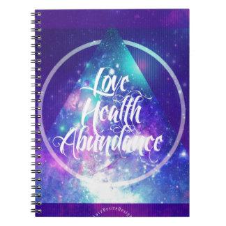 love-health-abundance zen series notebooks