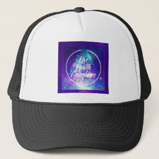 love-health-abundance zen series trucker hat