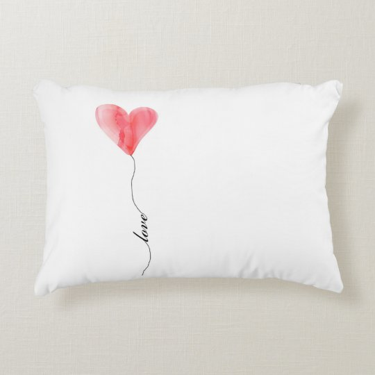 Love Heart Balloon Pillow