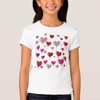 Love heart Balloons T-Shirt