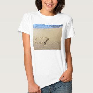 Love Heart Beach Tshirts