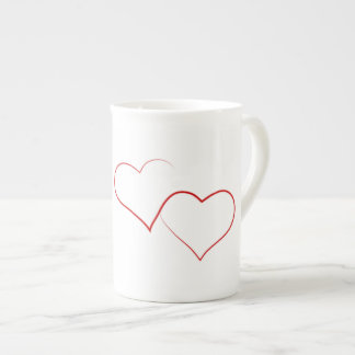 Love Heart China Mug
