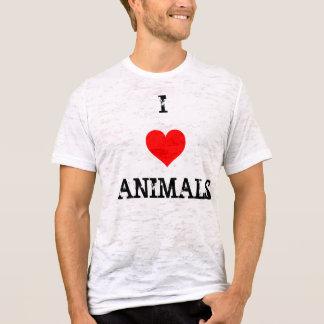 love heart, I , ANIMALS T-Shirt