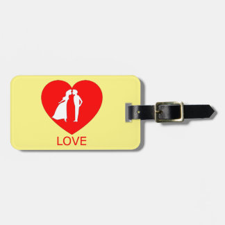 Love Heart Luggage Tag