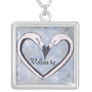 love heart necklace Volim te