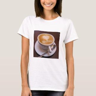 Love Heart Palm Springs Cappuccino Coffee Cup Mug T-Shirt