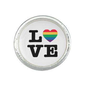 Love Heart Pride Ring