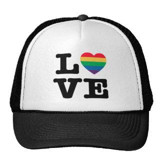 Love Heart Pride Trucker Hat