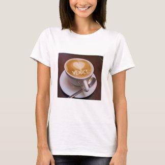 Love Heart Venice Cappuccino Coffee Cup Mug Tshirt