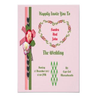 Love Heart Wedding Card