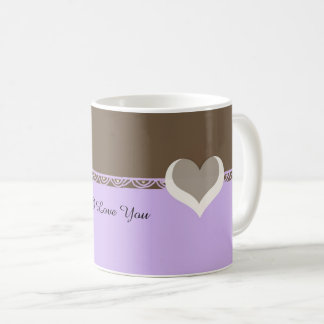 Love Hearts And Lace Coffee Mug