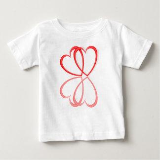 Love hearts. baby T-Shirt