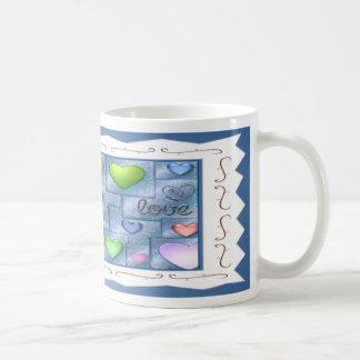 Love Hearts II - Framed Classic White Coffee Mug
