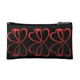 Love hearts. makeup bag