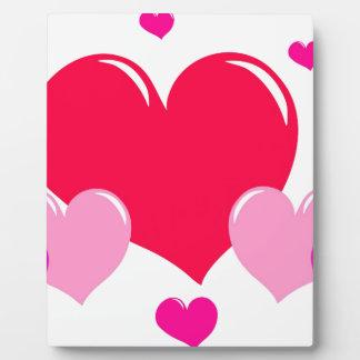 Love Hearts Plaque