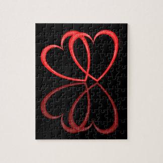 Love hearts. puzzle