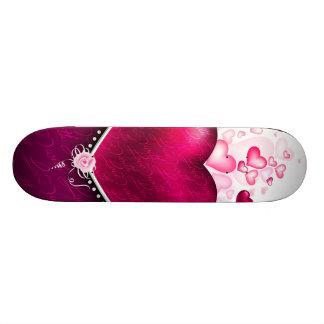Love hearts skateboards