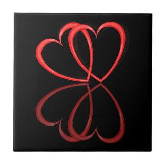 Love hearts. tile