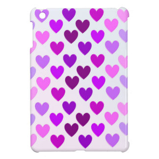 love hearts valentine romantic monochrome case for the iPad mini
