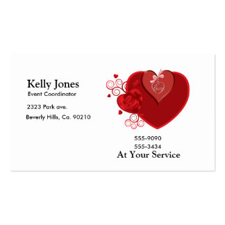 Love Heartstrings Business Card