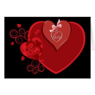 Love Heartstrings Greeting Card