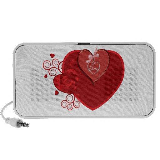 Love Heartstrings Notebook Speaker
