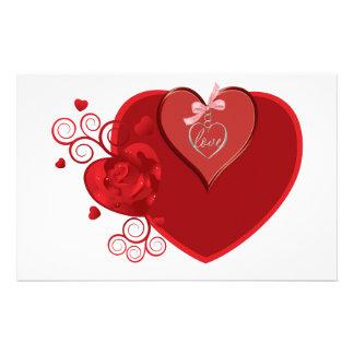 Love Heartstrings Stationery Design