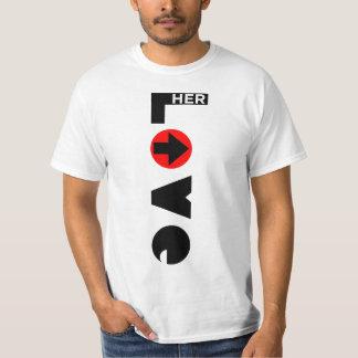 Love Her Couple Men's T-Shirt