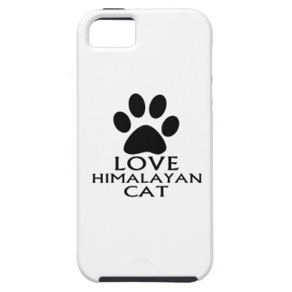 LOVE HIMALAYAN CAT DESIGNS iPhone 5 CASES