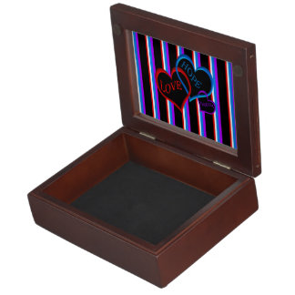 Love, Hope, Dream black Memory Box
