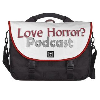 Love Horror? Podcast Laptop Bag