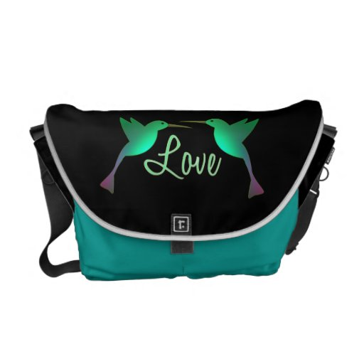 Love/Humming Birds Courier Bags