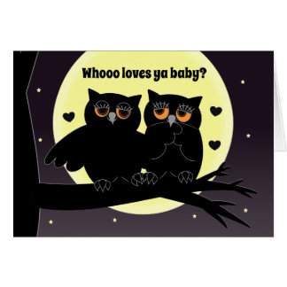 Love>Humour>I Love You With Owl Of My Heart Card