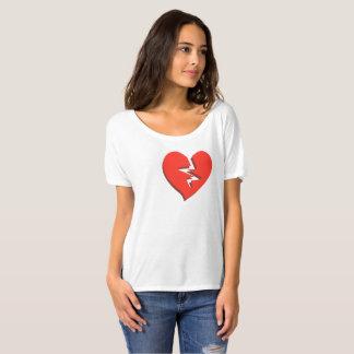 Love Hurts Broken Heart T-Shirt