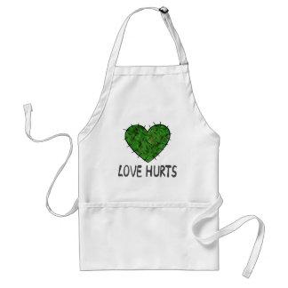Love Hurts Standard Apron