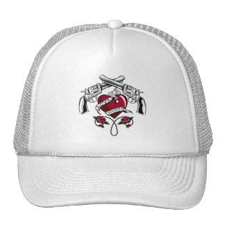 love hurts trucker hat