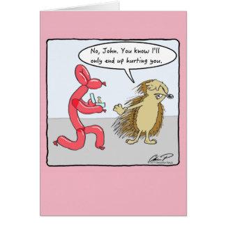 Love Hurts Valentine's Day Card