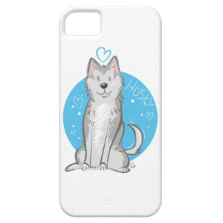 Love Husky - Phone Case