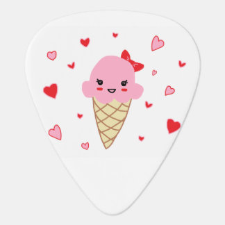 Love Ice Cream Guitar Pick