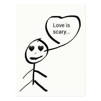 Love ice scary… postcard