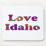 LOVE IDAHO MOUSE PAD