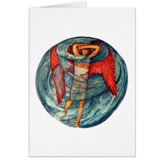 Love in a Mist by Burne-Jones Card