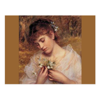 Love in a Mist by Sophie Anderson Postcard