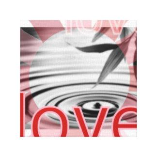 Love in Action Canvas Art Zen