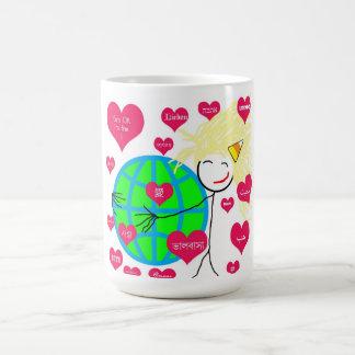 Love in any language coffee mug