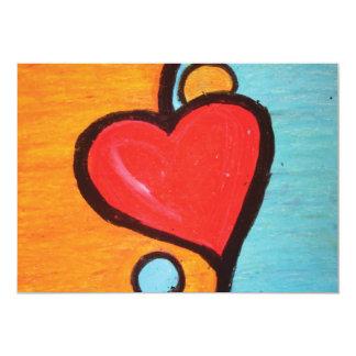 love in balance | mini-print card