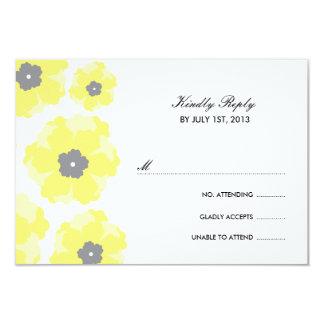 "Love in Bloom RSVP Cards 3.5"" X 5"" Invitation Card"