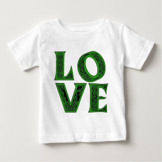 LOVE in Celtic Font Baby T-Shirt