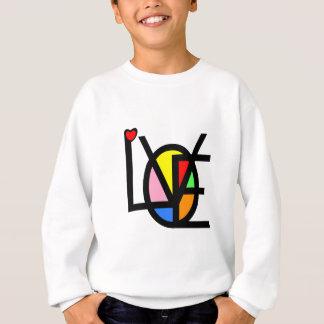 love in colors sweatshirt